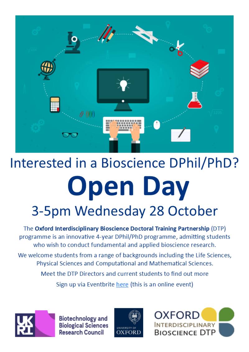 dtp open day flyer
