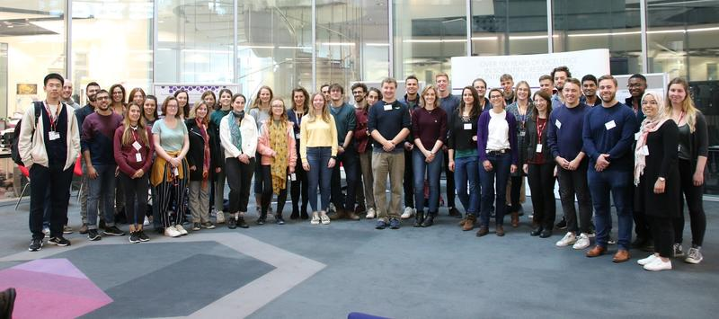 DTP 2019 cohort visiting the Pirbright Institute